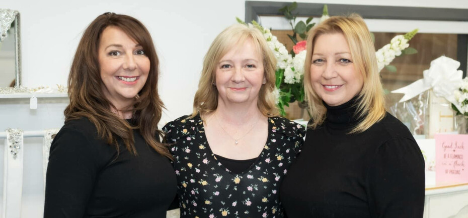 Pictured left to right: Wendy, Linda and Carole